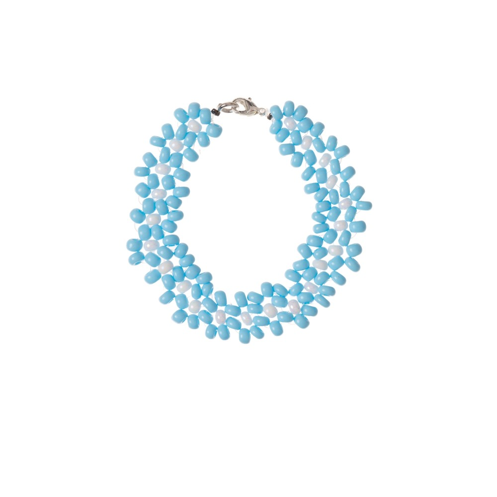 Big daisy bracelet Blue heaven
